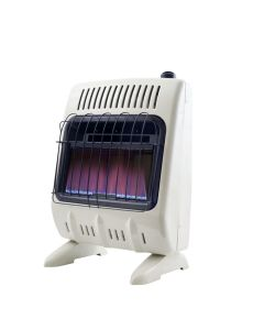 10,000 BTU Vent Free Blue Flame Natural Gas Heater