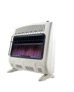 30,000 BTU Vent Free Blue Flame Natural Gas Heater