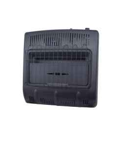 Vent Free Natural Gas Garage Heater 30,000 BTU/Hr. (Black)