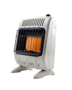 10,000 BTU Vent Free Radiant Natural Gas Heater