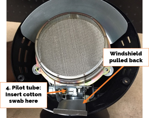 Golf Cart Heater Pilot Tube Cleaning
