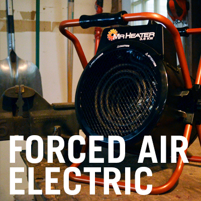 Forced Air Electric Heaters