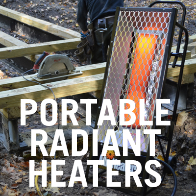 Portable Radiant Heaters