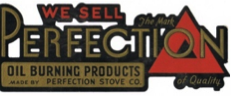 Perfection Stove oil burning products
