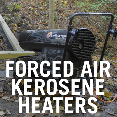 Forced Air Kerosene Heaters