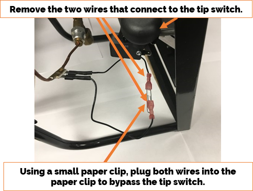 Portable Radiant Wire Instructions
