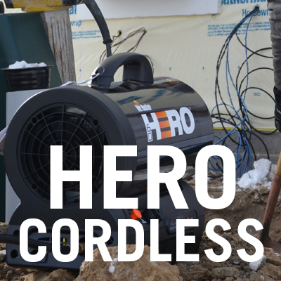 HERO Cordless Heaters