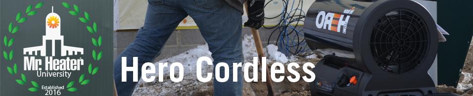 MHUniversity HERO Cordless Heater