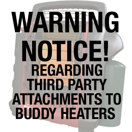 Buddy Third Party Warning